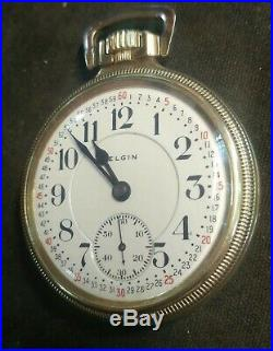 (16s) Father Time Very Very Rare 25yr 14k Green Gold Filled Mainliner Case