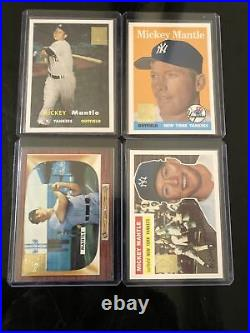 1996 Topps Case Card Sealed Set Mickey Mantle 19 Cards Reprint Set VERY RARE HOF