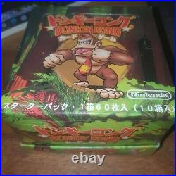 1999 Donkey Kong Starter Deck Case (Factory Sealed) (Very Rare) Trading Cards