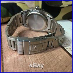 A BATHING APE BAPEX Explore Black Dial Automatic Watch Very Rare with Case F/S