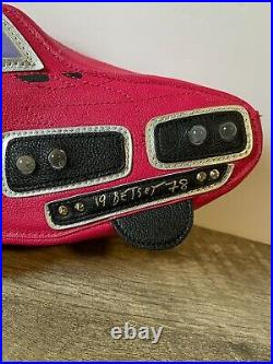 Betsey Johnson Car 1978 VERY Rare light up Cosmetic Case Clutch bag