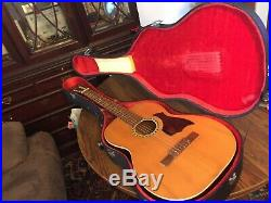 Classical guitar with case, Japan, very rare