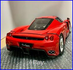 Deagostini 1/10 Enzo Ferrari with case limited Japanese Toy Minicar very rare D7