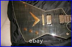 Dean Black Gold Z Guitar Very rare With Case