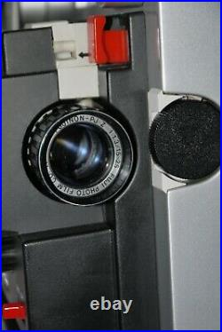 FUJICASCOPE SH30 super 8 opt & mag sound projector VERY RARE with Case Free Post