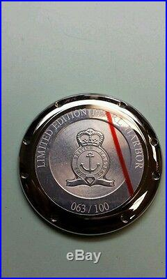 Graham pearl harbor case back very rare only 100 made