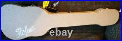 Hofner Gold Label Beatles Bass and case Limited Edition Very Rare