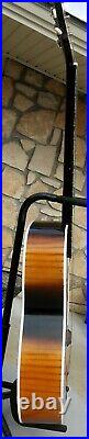 Kay Flat Top Guitar 1960s Very Good Full Size (Auditorium) With Case RARE