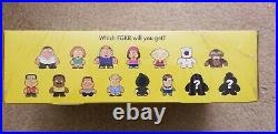 Kidrobot FAMILY GUY Sealed Case of 16 Blind Boxes Very Rare Peter Stewie Griffin