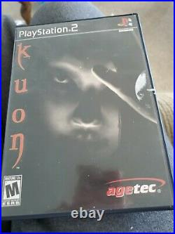 Kuon VERY RARE horror game (Sony PS 2, 2004) with Original Case and Manual