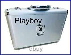 LIMITED EDITION PLAYBOY Poker Chip Case WITH CHIPS VERY RARE