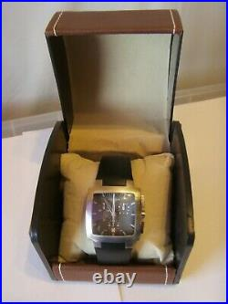 Longines Opposition Chronograph L3.628.4 Very Rare Square Cased Model Unisex