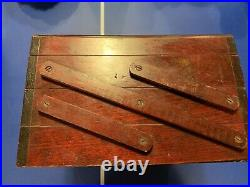M HOHNER HARMONICA DISPLAY CASE WOODEN BOX GENERAL STORE Very Rare antique
