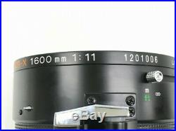 MINOLTA RF Rokkor-X 1600mm F/11 Lens withCase from Japan Ultra rare Very good