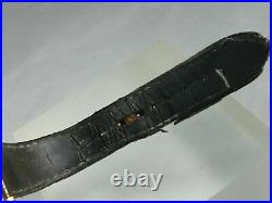 Mens Rotary Elite Reverso Reversible Dual Face Watch Gold plated case. Very Rare