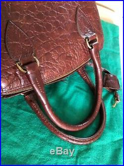 Mulberry Vintage Brown Congo Travel Vanity Case Stunning Condition And Very Rare