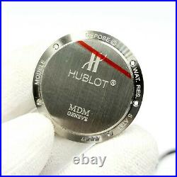 Nos Oem- Hublot MDM 1589.1 36 MM Watch Case And Parts Very Rare
