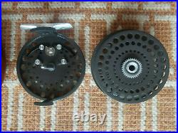 Orvis CFO V Fly Reel Screw Back Version WithCase Made By Hardy Very RARE