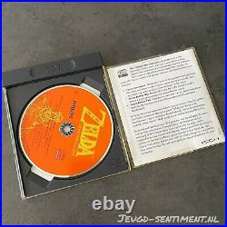 Philips Cd-i Zelda The Wand Of Gamelon English Very Rare Game Long Case CDI