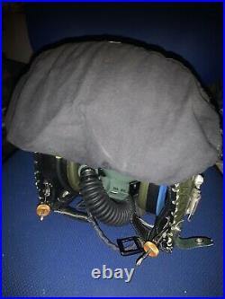 RAF Flying Helmet MK3c With P14 Oxygen Mask And Case Very Rare