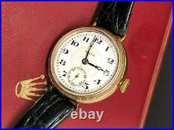 ROLEX 4086 20's 100 YEARS OLD! MOVEMENT & CASE WITH ROLEX MARKS VERY RARE