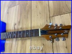 Roberts Skeleton Electro Acoustic Guitar Very Rare! With travel case Blue