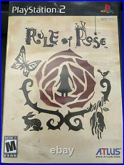 Rule of Rose PS2 US Version very good condition, original case with manual, rare