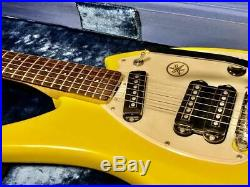 Used Yamaha SG-3C Electric Guitar Bizarre Space Age With Case Very Rare