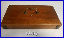 VERY RARE FRENCH 18th CENTURY COMPLETE TREPANNING SET IN ORIGINAL WOOD CASE