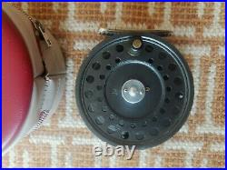 VERY RARE- Hardy The Princess 3 1/2 3.5 Fly Reel WithCase Limited Edition