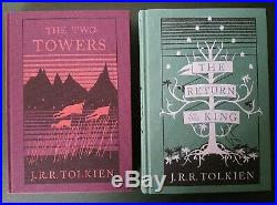 VERY RARE Lord of the Rings 2013 HB Collectors Editions & Case Tolkien Hobbit NM