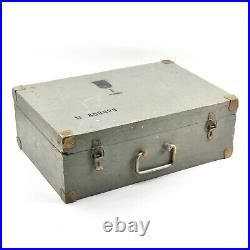 Very RARE KGB Elka C-64 Spy Camera with Metal Case & Accessories! Full Kit