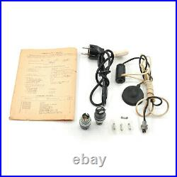Very RARE KGB Elka C-64 Spy Camera with Wooden Case & Accessories