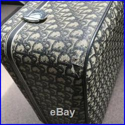 Very Rare Authentic Christian Dior Vintage Trotter Travel Case Trunk Bag