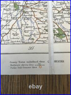 Very Rare. Cased Full Set Of W & A K Johnston's Road Maps Of England And Wales