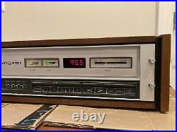 Very Rare Crown FM1 Digital Tuner With Original Crown Case Very Nice Condition