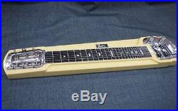 Very Rare! Fender Japan DLX-6 Steel Guitar withStand Case