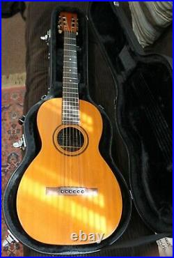 Very Rare Late 1800's Bay State Type E Parlor Guitar Beautiful With Case