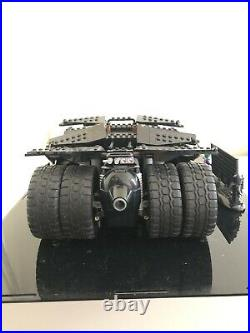 Very Rare OOP LEGO DC Comics Super Heroes The Tumbler Used With Perspex Case
