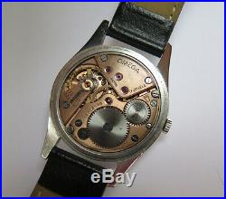 Very Rare Omega Dial Reflective Two Tones Case 35mm S. Steel 30T2 caliber 266