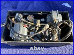 Very Rare Pair Ampex 3741 R2 Power Supply Unit for 350-2 Tube Mic Pre + Case