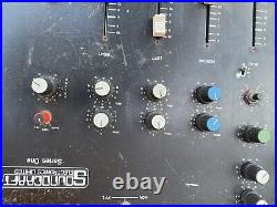Very Rare Soundcraft Series One Console with Flight Case