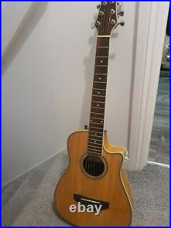 Very Rare Turner RB20 Mini Electro Acoustic Guitar Collectible & with Padded Case