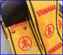 Very Rare Vtg 70s Yamaha Classic Case Candy Ace Style Woven Guitar Strap New