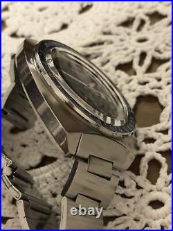 Very rare Seiko 6139-6000 water70proof notched case. June 1970