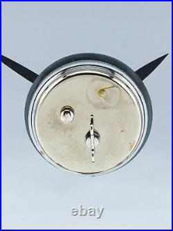 Very rare amazing Jaeger LeCoultre in a chrome plated brass case 8 days art deco
