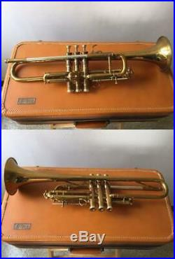 Vintage 1953 Selmer Trumpet Balanced Model With Case Very Rare