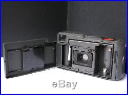 Vintage German AGFA COMPACT 35mm Film Camera, Flash, Case Handsome Very RARE