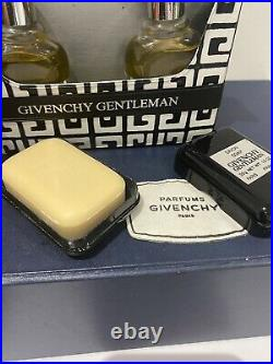 Vintage Givenchy Gentleman Gromming Set In Travel Case Very Rare